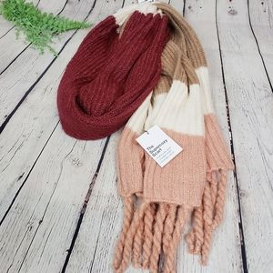 Sonoma Berry Combo Oblong Wrap Scarf